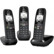 Siemens Telephone-sans-fil GIGASET SIEMENS - GIGA AS 470 TRIO NOIR