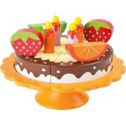 Narozeninový dort s podnosem