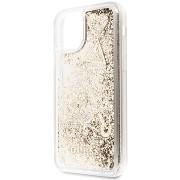 Guess Glitter Hearts iPhone 11 készülékhez Gold (EU Blister)