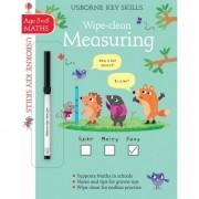 Measuring 5-6 Key Skills Wipe-clean, Carte Usborne Engleza