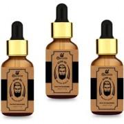 Meralite Organic Beard Oil Pack of 3 Hair Oil (90 ml) (ML-BEARD OIL-B-PACK OF 3)