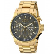 Invicta Watches Invicta Men's 'I-Force' Quartz Stainless Steel Casual Watch ColorGold-Toned (Model 23089) GreyGold