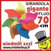 GIRANDOLA GIGANTE 70 CM FLUO