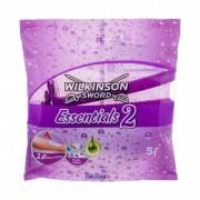 Wilkinson Sword Essentials 2 5 ks jednorazové holiace strojčeky pre ženy