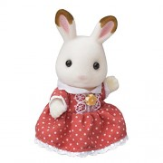 Girl of Sylvanian Families Doll Chocolate Chocolate Rabbit Family Rabbit (Japan Import)