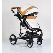 Cangaroo Kolica za Bebe Gala Beige Leather (CAN4096)