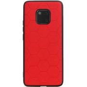 Hexagon Hard Case voor Huawei Mate 20 Pro Rood