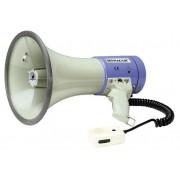 MONACOR TM-27 - Megafon med siren och handmikrofon