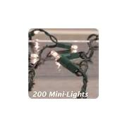 Lichtsnoer met minilampjes wit 200 minilampjes