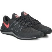 Nike W NIKE LUNAR EXCEED TR Training & Gym Shoes For Women(Grey)