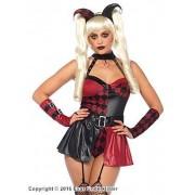 Tuff Harley Quinn maskeraddräkt