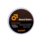 Be-Viro Men´s Only Beard Balm Bartbalsam 50 ml Farbton Grapefruit, Cinnamon, Sandal Wood für Männer