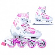 Patine reglabile Action Pinkola 2in1