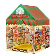 VB Kids Play Tent,Supermarket House,Indoor/Outdoor Water Repellent Folds Kids Tents,Flame-Resistant Playhouse Toy
