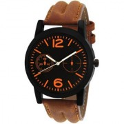 MF New Design Popular Brown Leather Kids And Boys Watch