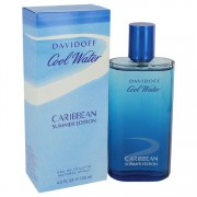 Davidoff Cool Water Caribbean Summer Eau De Toilette Spray 4.2 oz / 124.21 mL Men's Fragrance 541787