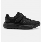 Under Armour Pre-School UA Surge 2 AC Running Shoes Black 30