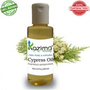 KAZIMA Cypress Essential Oil (100ML) 100% Pure Natural & Undiluted For Skin care & Hair treatment