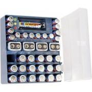 Cutie Conrad energy cu 36 baterii alcaline si tester baterii