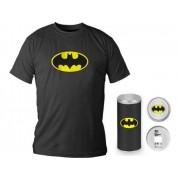S/marca T-Shirt DC COMICS Logotipo Batman Preta S