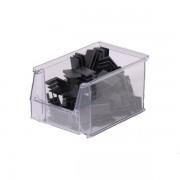 PROVOST Bacs à bec SYSTEMBOX transparent P 230 x L 150 x H 130 - Lot de 25