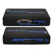 "Convertidor VGA + Stereo 3.5"" A HDMI X-Case VGABIGHDMI"