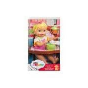 Boneca Little Mommy Momentos do Bebê Dar de Comer Melância- Mattel