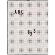 Design Letters Anslagstavla A4, Ljusgrå