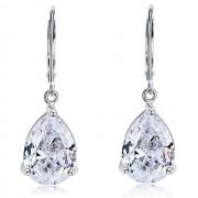 Cercei Borealy Argint 925 Simulated Diamonds Drop