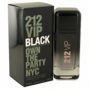 212 Vip Black For Men By Carolina Herrera Eau De Parfum Spray 3.4 Oz