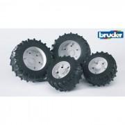 Bruder doppie ruote gemelle cerchione bianco premium-pro 03312