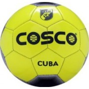 Cosco Cuba Football - Size: 5(Pack of 1, Multicolor)