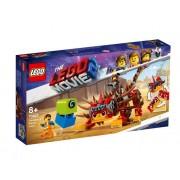 Set de constructie LEGO Movie Ultrakatty si Razboinica Lucy!