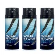 Wild Stone Aqua Fresh Deodorant Spray Pack of 3 Combo Combo pack of 2 150ml each 300ml each 450ML