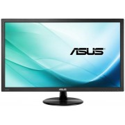 "Monitor Gaming LED ASUS 27"" VP278H, Full HD (1920 x 1080), HDMI, VGA, 1 ms, Boxe, Low Blue Light, Flicker Free, TUV certified (Negru)"