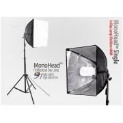 Lampa SOFTBOX światła ciągłego typu Monohead 50x50cm, 85W, 230cm