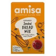Mix pentru Paine Fara Gluten cu Seminte Bio Amisa 500gr
