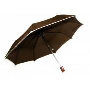 New Berry UNISEX vystřelovací deštník hnědý A-018