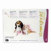 Stronghold for Puppies Upto 2.6 Kg 15 mg (Rose) 3 Doses