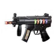 Zest 4 Toyz Musical Black Toy Gun With Music
