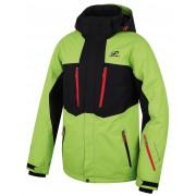 Мъжко яке за ски и сноуборд Hannah Bleed Lime green/anthracite