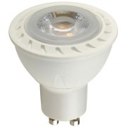 Led GU10 COB spot égő, 5W led, 550 Lumen, 38°, 2700K, meleg fehér. Life Light Led