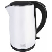 Black & Decker BXKE1703IN Electric Kettle(1.7 L, White)