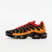 Nike Air Max Plus Black/ Chile Red-Vivid Orange