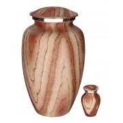 Elegance Urnen Voordeelset Beige Woodlook (3.6 liter)