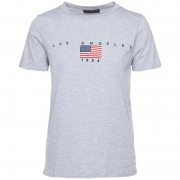 T-Shirt LA Tekst - T-Shirts