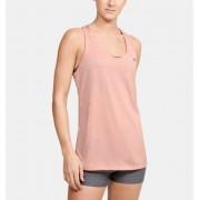 Under Armour Damestanktop UA Tech™ Twist - Womens - Orange - Grootte: Extra Small
