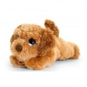 Keel Toys pluche bruine Cockapoo honden knuffel 25 cm