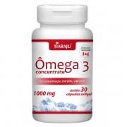 Ômega 3 Concentrate 1000 mg 30 Cápsulas Softgel - Tiaraju