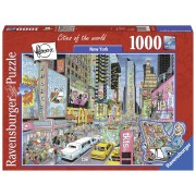Ravensburger puzzle new york, 1000 piese